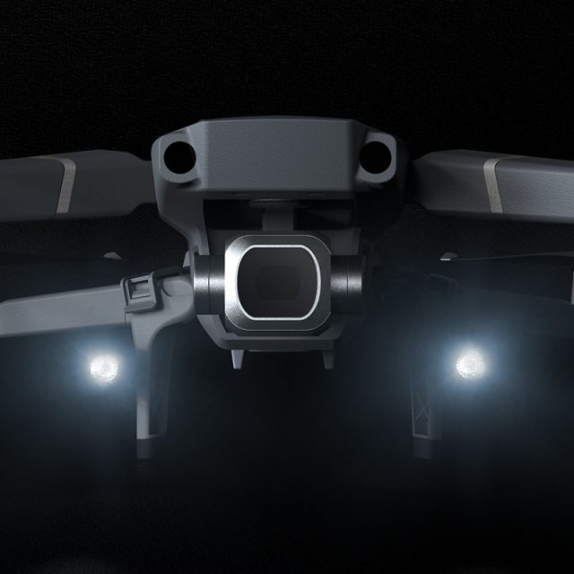PGYTECH Mavic 2 Landing Gear with LED Headlamp Set for DJI Mavic 2 Pro/Zoom Extended Extension Legs Holder Skeletons Accessories