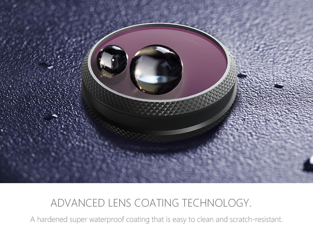 PGYTECH Mavic 2 Zoom Advanced Filters ND 8 16 32 64 PL UV CPL ND4 Camera Lens Kit Set for DJI Mavic 2 Zoom Filter Drone