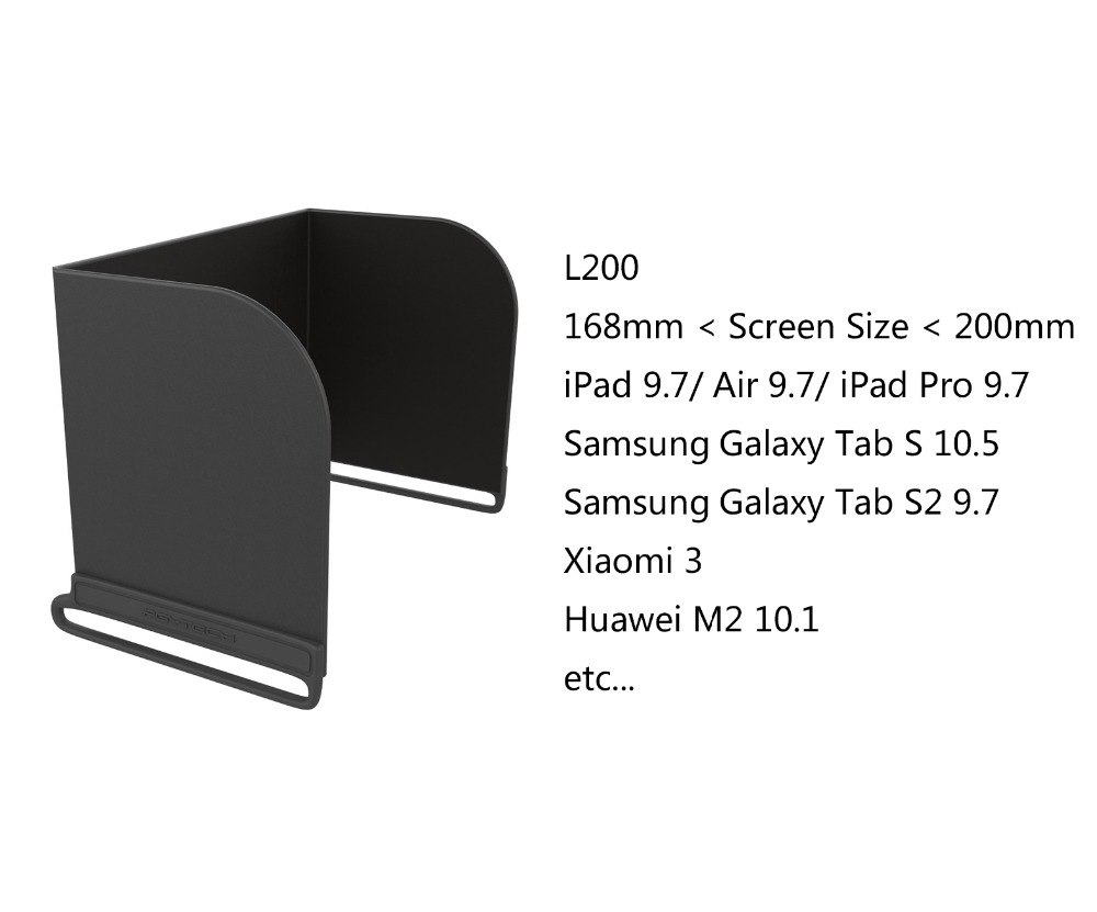 PGYTECH Phone Monitor Hood Cover Sun Shade for DJI Mavic 2 Pro Mavic 2 Zoom / Air Phantom 4 Pro Spark OSMO Mobile 2 Accessories