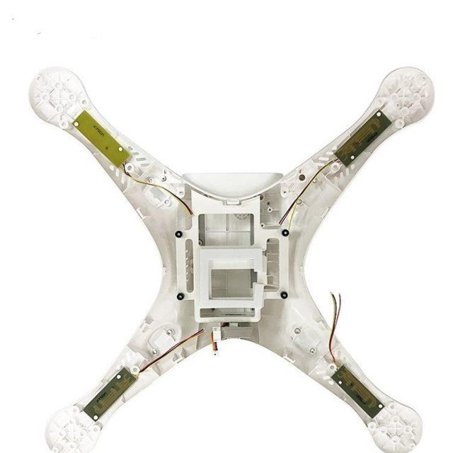 100% Original DJI Phantom 3 Pro / Advance Body Shell Upper Bottom Shell Landing Gear For Phontom 3P 3A Housing Repair Parts