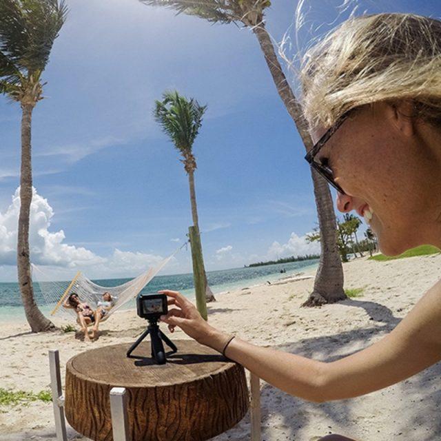 Pocket Pole Mini Selfie Stick+Extendable Handle Tripod Steady For GoPro Hero 7 6 5 4 DJI Osmo Action Insta360 Yi 4K+EKEN SJCAM