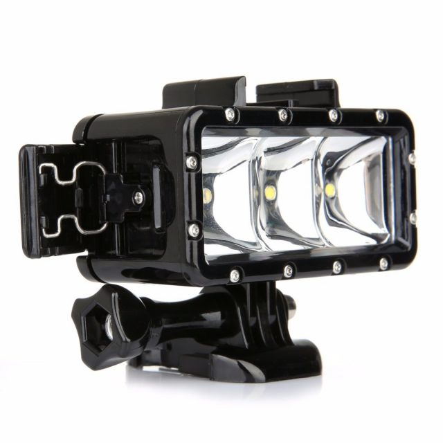 For Dji GoPro Underwater Light Diving waterproof LED light For GoProHero 7 5 6 4 Session Xiaoyi 4k Osmo Action Accessories