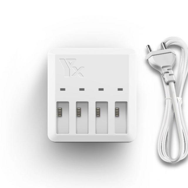 TELLO Charger 4in1 Multi Battery Charging Hub for DJI TELLO 1100mAh Drone Intelligent Flight Battery Quick Charging US/EU Plug