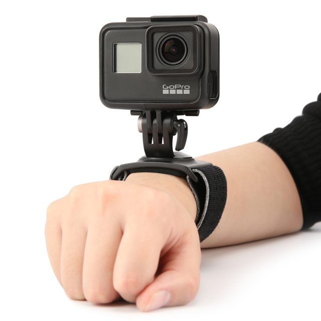 PGYTECH For DJI OSMO Action GoPro Action Camera Breathability Anti Skid Hand and Wrist Strap 360 Degree Rotation