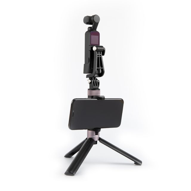 PGYTECH OSMO Action Universal Mount Kit Action Camera L Bracket+/Universal Mount to 1/4 /Data Port to Universal Mount