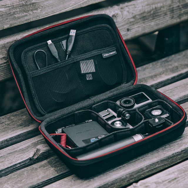 PGYTECH Osmo Action Camera Vlog Set Extension Pole Tripod  Carrying Bag for DJI OSMO ACTION Accessories