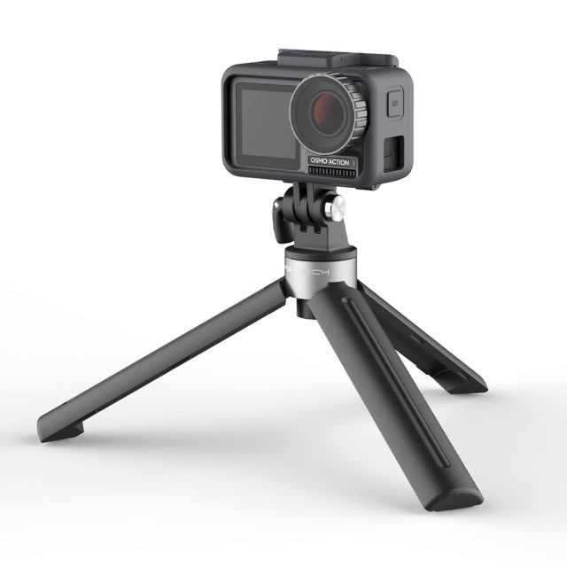PGYTECH Mini Desktop Tripod For DJI OSMO Action / GoPro / Action Camera 1/4 thread port for expansion