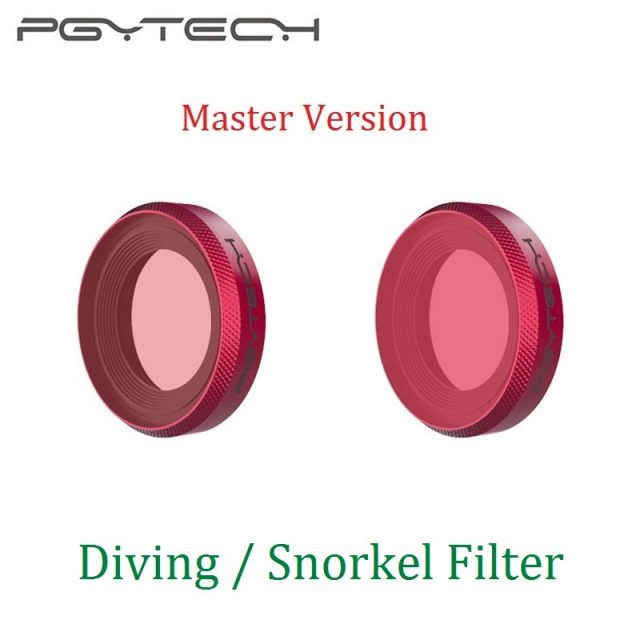 PGYTECH Diving Snorkel Lens Filter Master Version For DJI OSMO Action Camera Accessories
