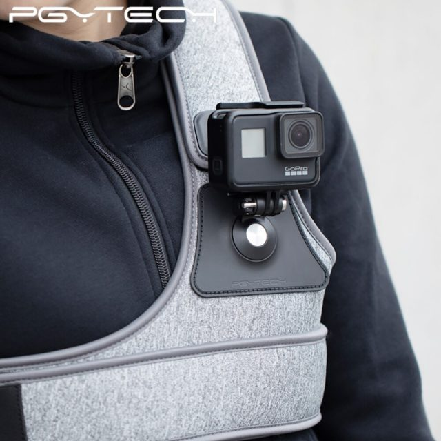 PGYTECH Chest Strap for DJI Osmo Action Gopro Xiaomi yi 4K Action Camera Chest Mount and Strap