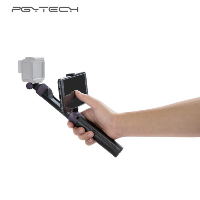 PGYTECH Hand Grip & Tripod for DJI OSMO Action Pocket Gopro Hero 6 5 4 / Xiaomi Yi Action Camera Accessories