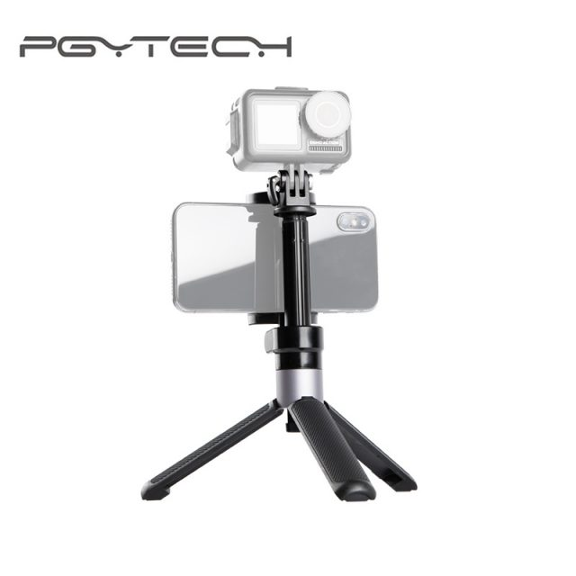 PGYTECH DJI OSMO ACTION Extension Pole Tripod Plus Selfie Stick for Insta360 One X Gopro Sport Camera Osmo Action Accessories