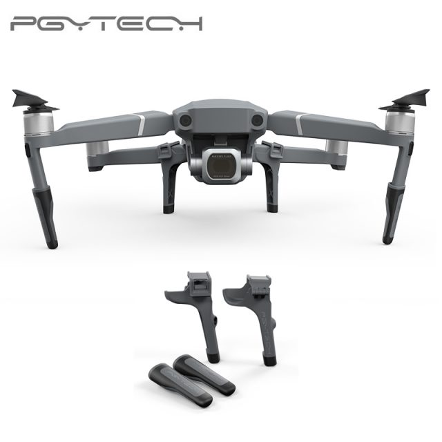 PGYTECH Mavic 2 Extended Landing Gear Leg Support Protector Extension Replacement Fit For DJI Mavic 2 Pro Zoom Drone Accessories