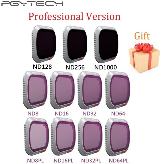PGYTECH ND CPL Lens Filter Set For DJI Mavic 2 Pro Professional Version Free Shipping