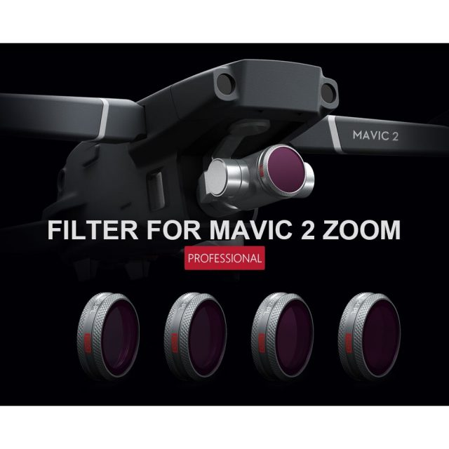 PGYTECH UV CPL ND Lens Filter For DJI Mavic 2 Zoom Professional Version Free Shipping