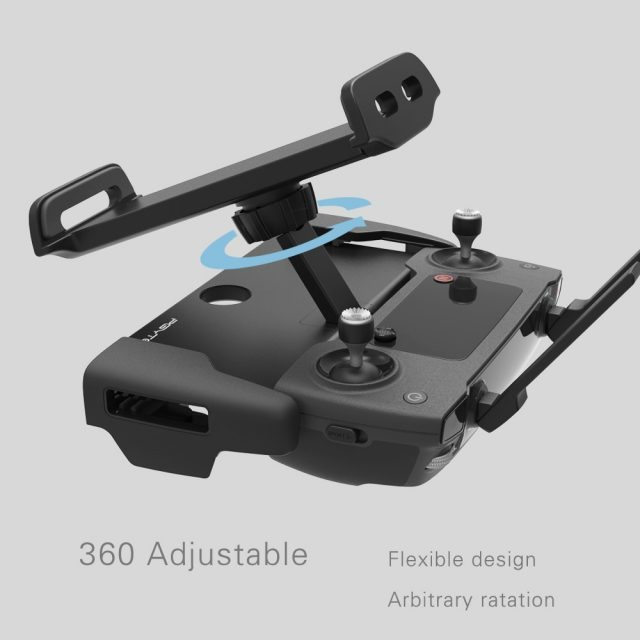 PGYTECH 7-10 Inch Pad Holder For Ipad For Xiaomi Tab Aluminum Flat Bracket For DJI Spark & Mavic Pro / Air / 2 Remote Controller