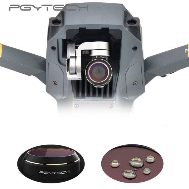 PGYTECH MAVIC Pro&Platinum Accessories Lens Filters gradual color Gray Red Orange Blue Camrea Filter Drone RC Quadcopter parts