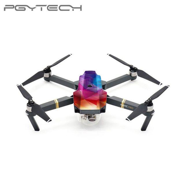 PGYTECH DJI Mavic Pro& Mavic Pro Platinum Skin Sticker waterproof PVC Colorful decals Drone Accessories D3 D4 D5 D6