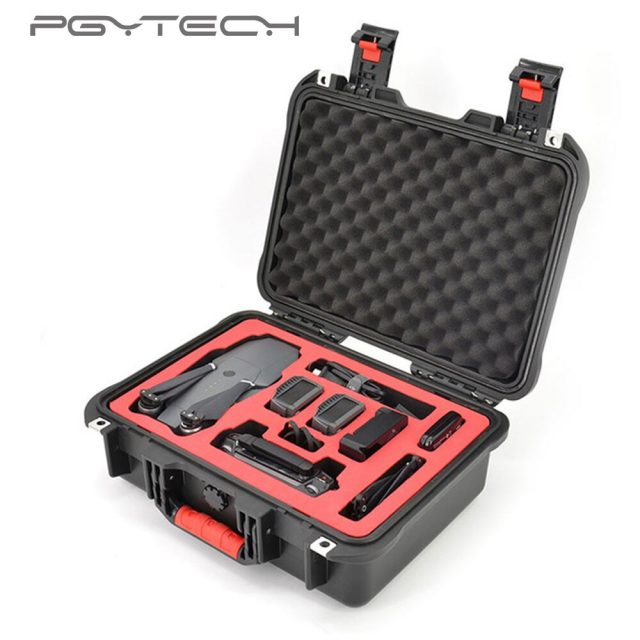 PGYTECH safety carrying case for DJI Mavic Pro&Platinum Drone Accessories Waterproof Hard EVA foam Carrying Bag