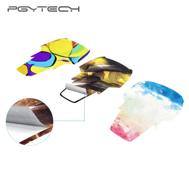 PGYTECH Skin Stickers For DJI Mavic Air Body Decals Remote Control Protective Film Skin for DJI Mavic Air Accessories