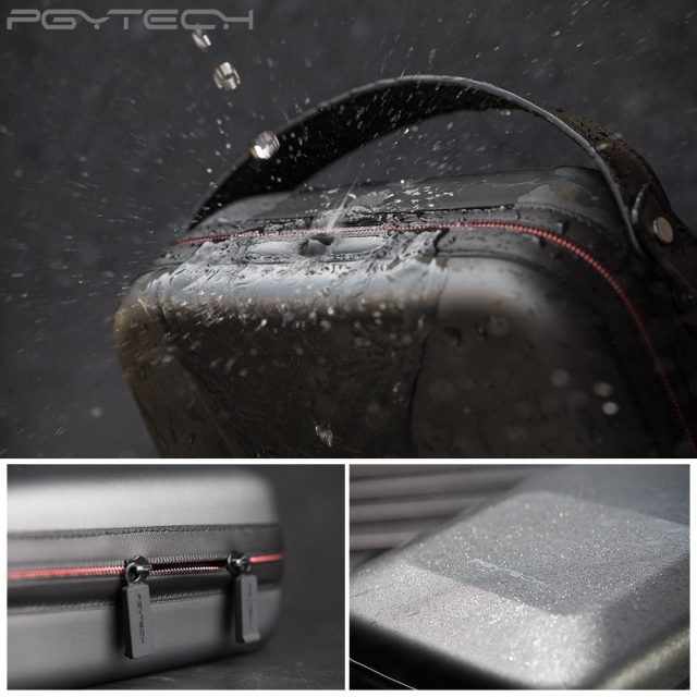 PGYTECH Mavic air bag Waterproof Bag Portable Case PU Shoulder Bag carrying case For DJI Mavic Air drone Accessories