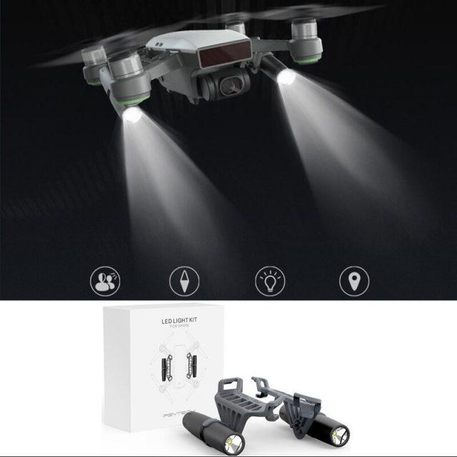 PGYTECH Accessories For DJI Spark Propeller Holder/Landing Gear Risers/Landing Pad/Propeller Guard/Holder for Remote Controller
