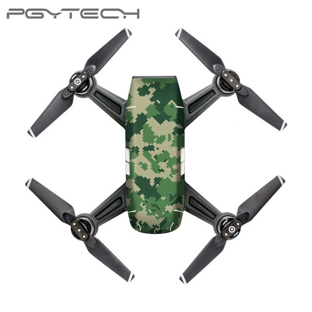 PGYTECH Sticker Skin for DJI Spark Series Colorful And Bright 3M Scotchcal Film Waterproof Drone Accessoires CA3/CA4/CA5/CA6/CA7