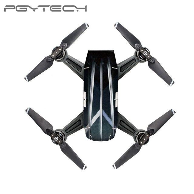 PGYTECH Waterproof PVC Drone Protective Skin Cover Sticker Body Sticker for DJI Spark Camera Drone Accessorie CO3/CO4/CO8