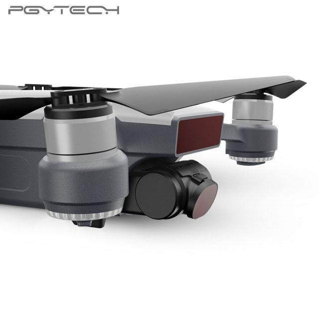 PGYTECH Lens Filter 4pcs/Set For DJI Spark High Definition ND4 ND8 ND16 ND32 Neutral Density Filter for Drone Camera Lens