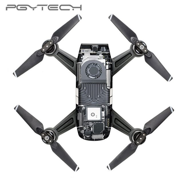 PGYTECHPVC Waterproof Stickers Decal Skin Protector For DJI Spark Drone Body Accessories W4/TR