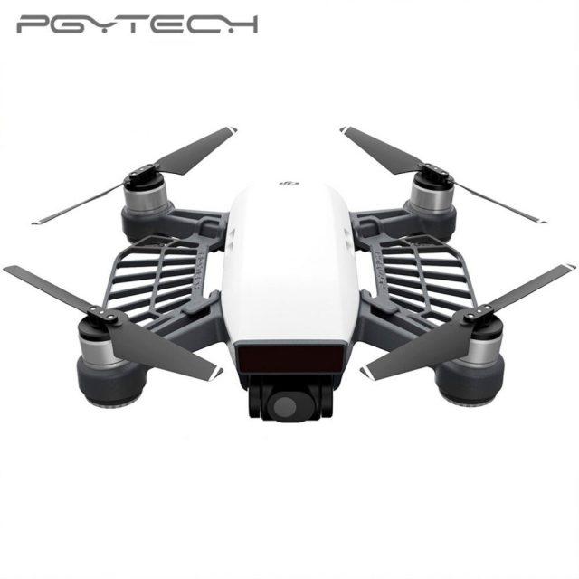 PGYTECH Combo Sale 1 Set Landing Pad 55 cm & Propeller Motor Hood & Remote Control Guard & Motor Protective Cap For DJI Spark
