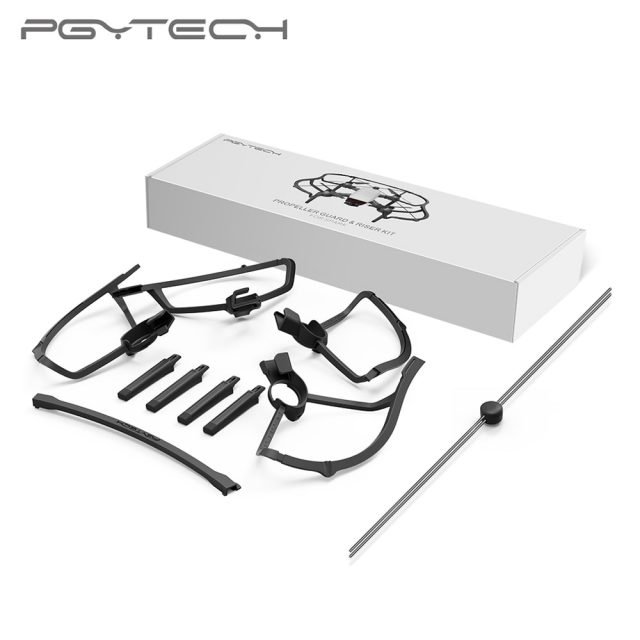 PGYTECH New Arrival Propeller Guard & Riser Kit for DJI SPARK Drone Accessories With PC&ABS Material