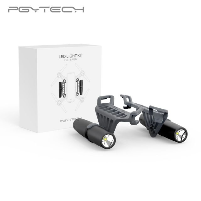 PGYTECH Night Flight LED Light for DJI Spark drone Accessories Not Include the Battery