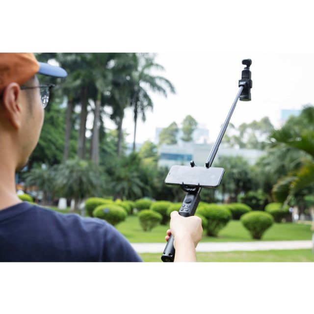 DJI Osmo Pocket Extension Rod in stock Osmo Original Selfie Stick Handheld Built with a Phone Holder 1/4-inch Tripod Mount