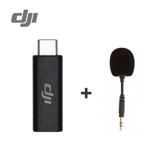 DJI Osmo Pocket 3.5mm Adapter Supports external 3.5mm microphone fit Osmo Pocket